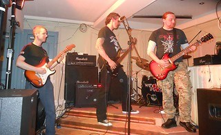 Erosion live at the Ivy Bar, Newtownards