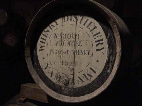 これが一番最初に作った樽ですよ!