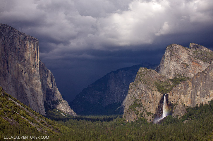 Tunnel View + 15 Best Things to Do in Yosemite National Park that Will Take Your Breath Away.
