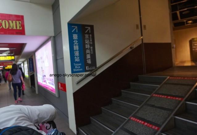 あら、台北バスターミナルとQスクエアに行けるって