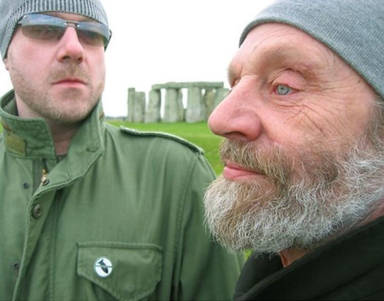 Flinton Chalk and Brian Barritt