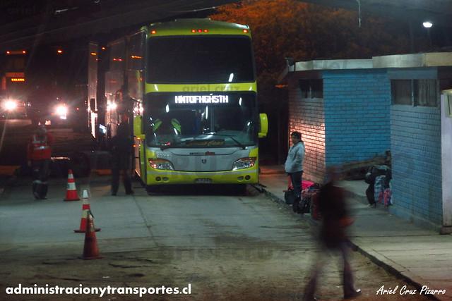 Buses San Andrés - Aduana El Loa - Modasa Zeus / Scania (DLFJ47)