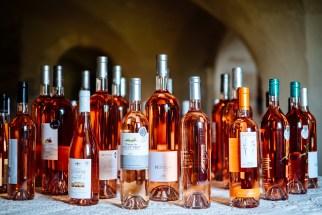 Rosé at La Maison de la truffe et du vin