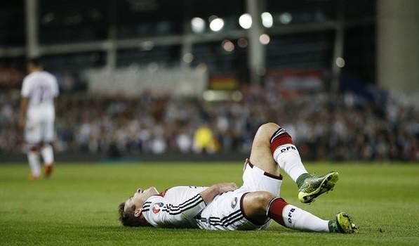 Lesión deja fuera a Mario Götze por el resto del año