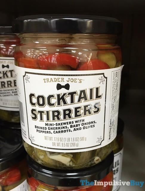 Trader Joe's Cocktail Stirrers