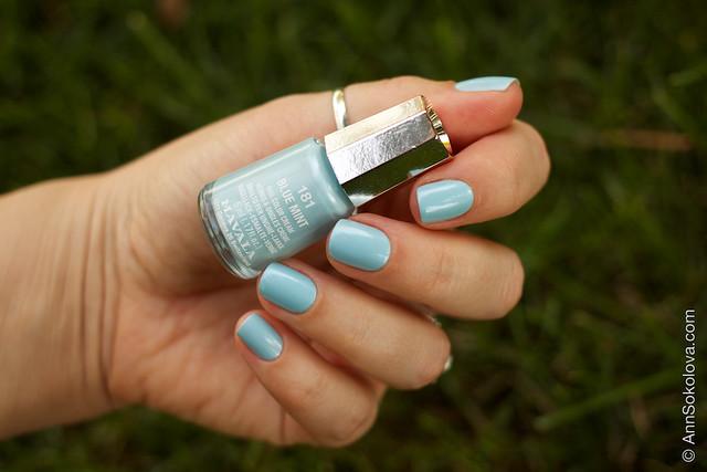 02 Mavala #181 Blue Mint