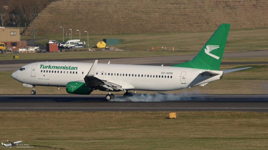 <p>Smokey landing</p>