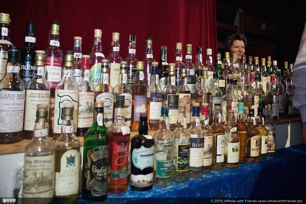 Ruime selectie van oude bottelingen