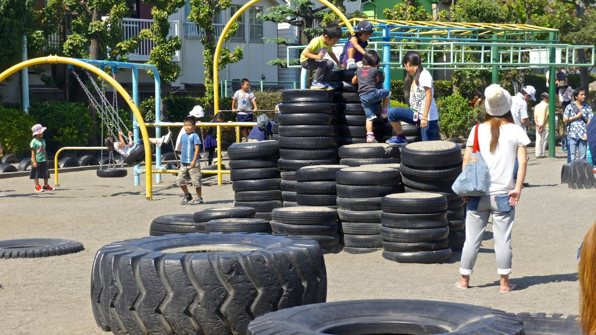 Tire Park at Kamata