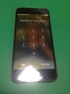 192_iPhone6のフロントパネル液晶割れ