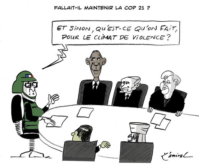 COP21 comme cochons