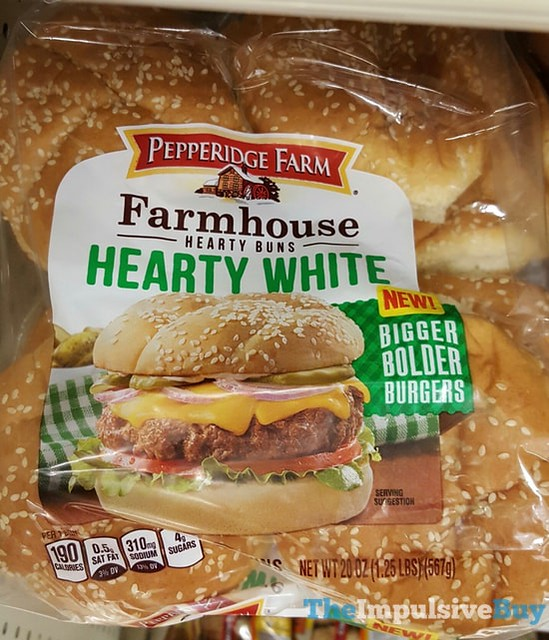 Pepperidge Farm Hearty White Farmhouse Hearty Buns