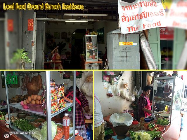 Local Food Around iSanook Residence