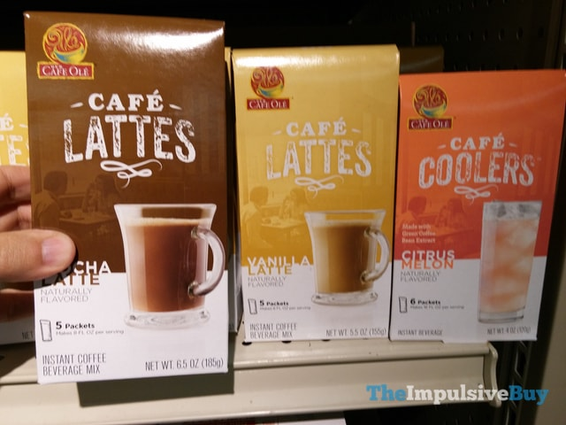 Cafe Ole Cafe Lattes and Cafe Coolers