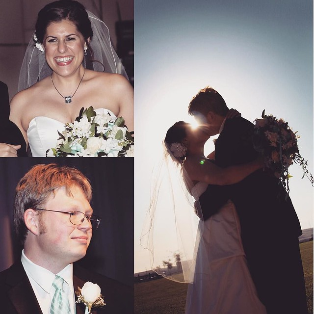 Today is my 5th wedding (and 11th dating) anniversary with @joshua300td!