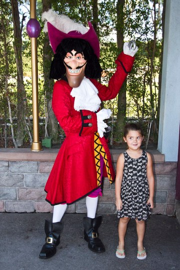 With Captain Hook