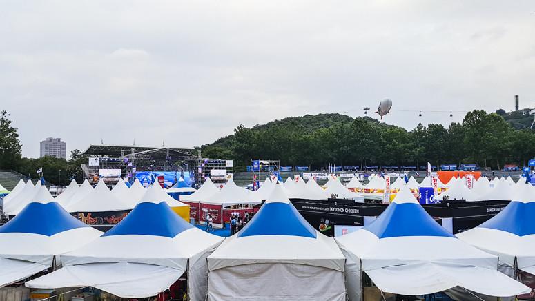 daegu // chimac chicken and beer festival