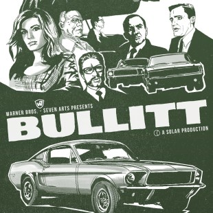 Bullitt Fan Art /Poster