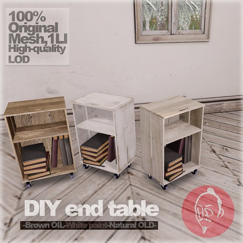 [HD]DIY end table ad