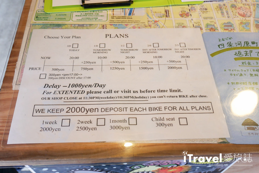 京都脚踏车出租 Rent a cycle EMUSICA (9)