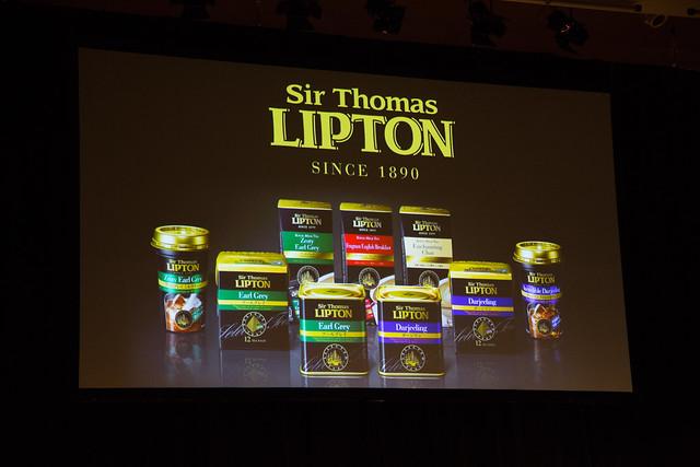 Sir Thomas Lipton 発表イベント
