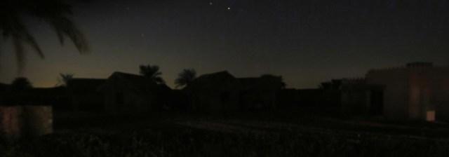 arabian nights village desert sky