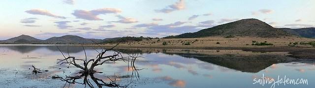 Pilanesberg hide pano