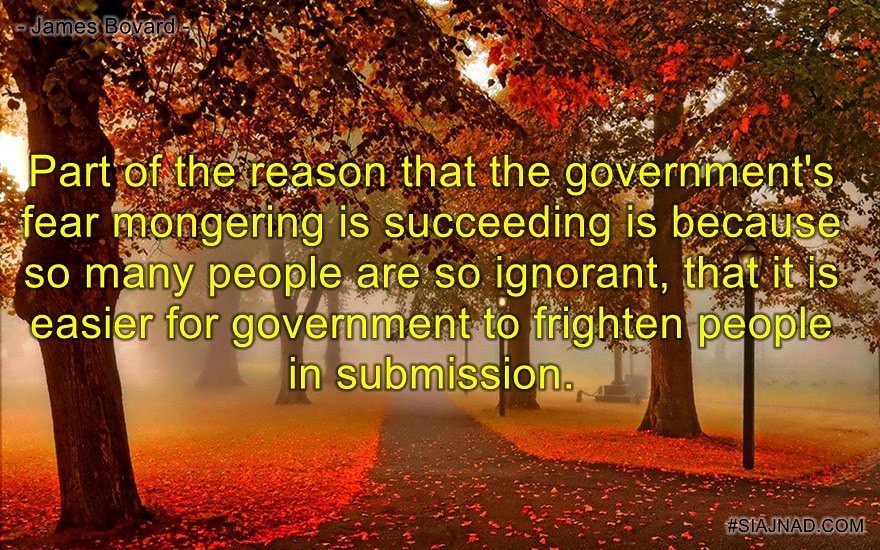Part of the reason that the government