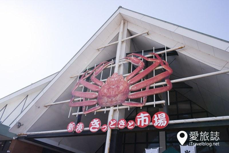 《日本富山景点》新凑市场齐聚每日最鲜味,现捞渔获满足味蕾