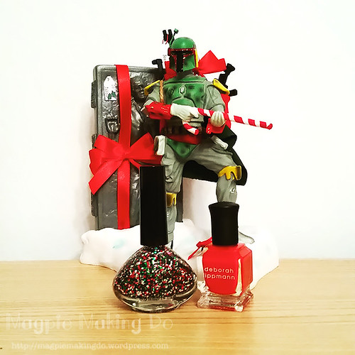 Christmas mani polishes