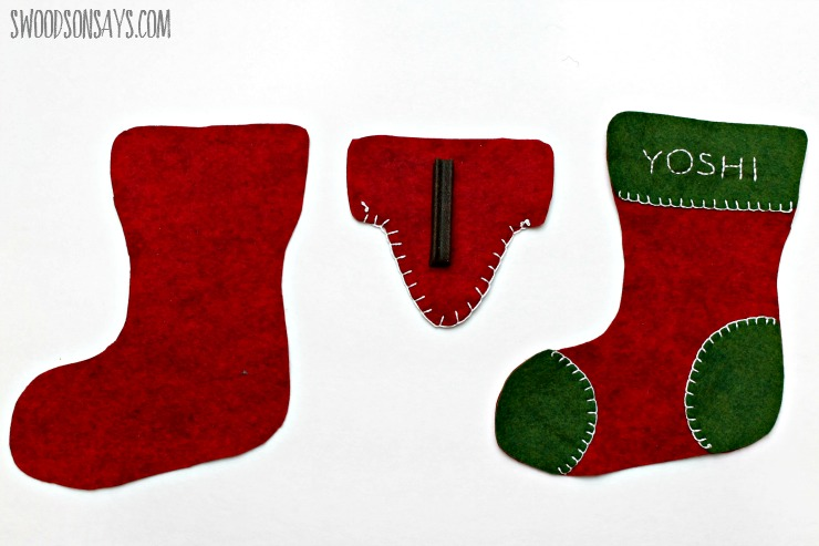 Christmas Stocking DIY Supplies