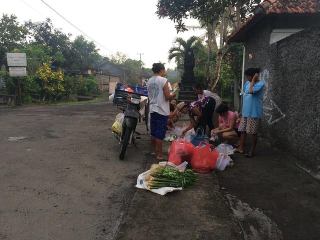 Morning groceries in Tegal Mengkeb