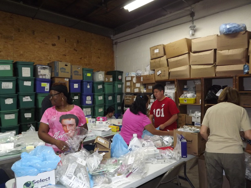A day at the WSF warehouse