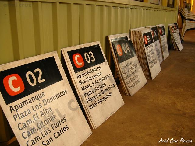 Letreros Redbus Urbano
