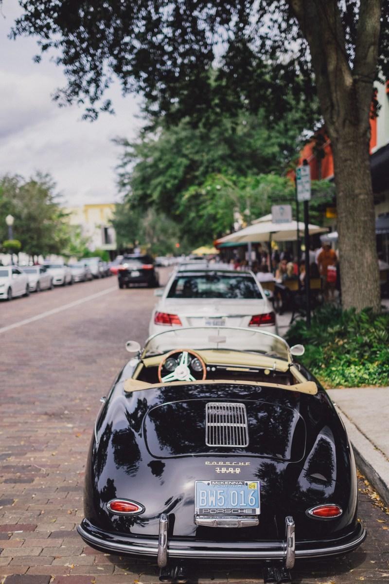 A touch of classic Porsche