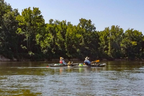 Savannah River Paddling-037
