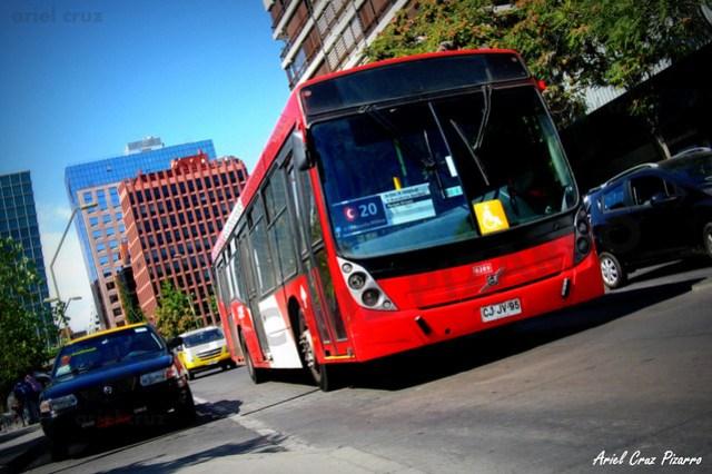 Transantiago - Redbus Urbano - Neobus Mega LE / Volvo (CJJV95) (289)