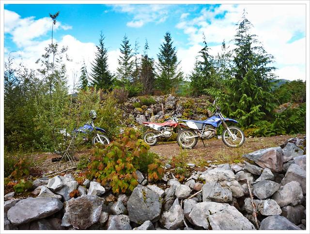 A day out dirt biking