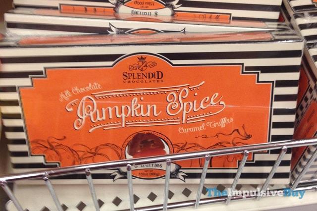 Splendid Chocolates Pumpkin Spice Caramel Truffles