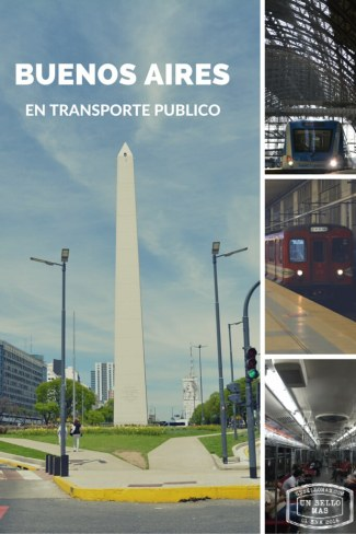 Buenos Aires en transporte publico
