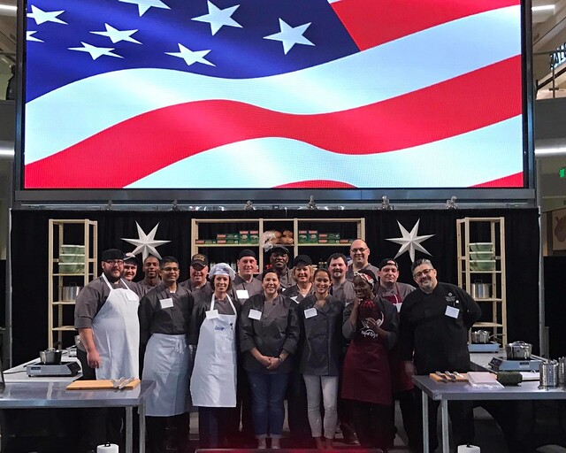 Chef Challenge serves up for military and community