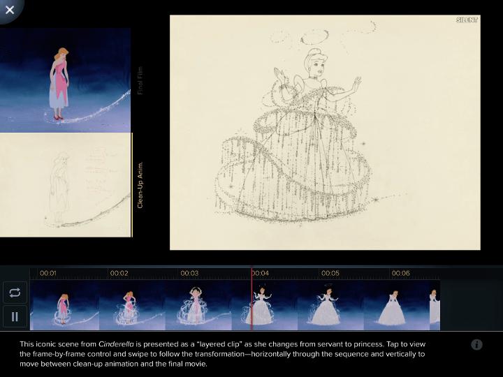 Disney Animated sovellus - Disnerd dreams