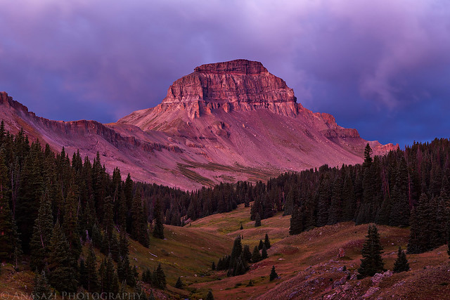 Uncompahgre Peak Alpenglow