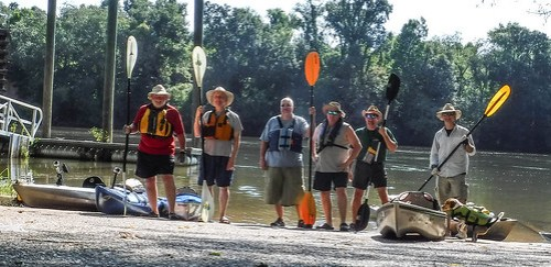 Savannah River Paddling-003