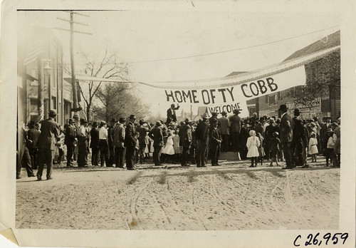1909 Royston Home of Ty Cobb