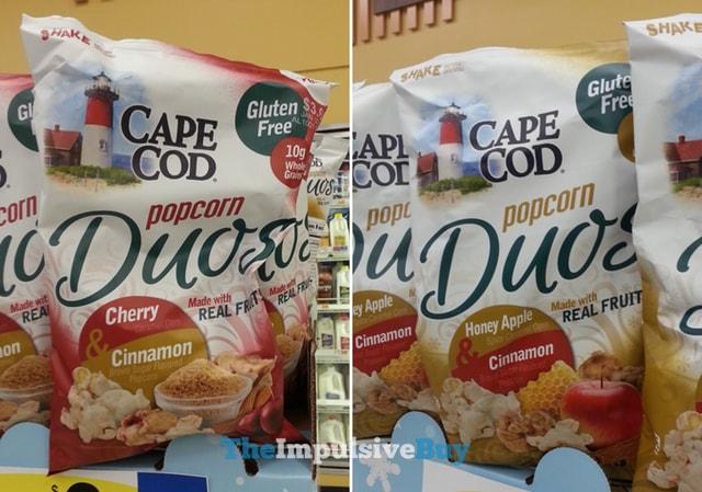 Cape Cod Popcorn Duos (Cherry & Cinnamon and Honey Apple & Cinnamon)