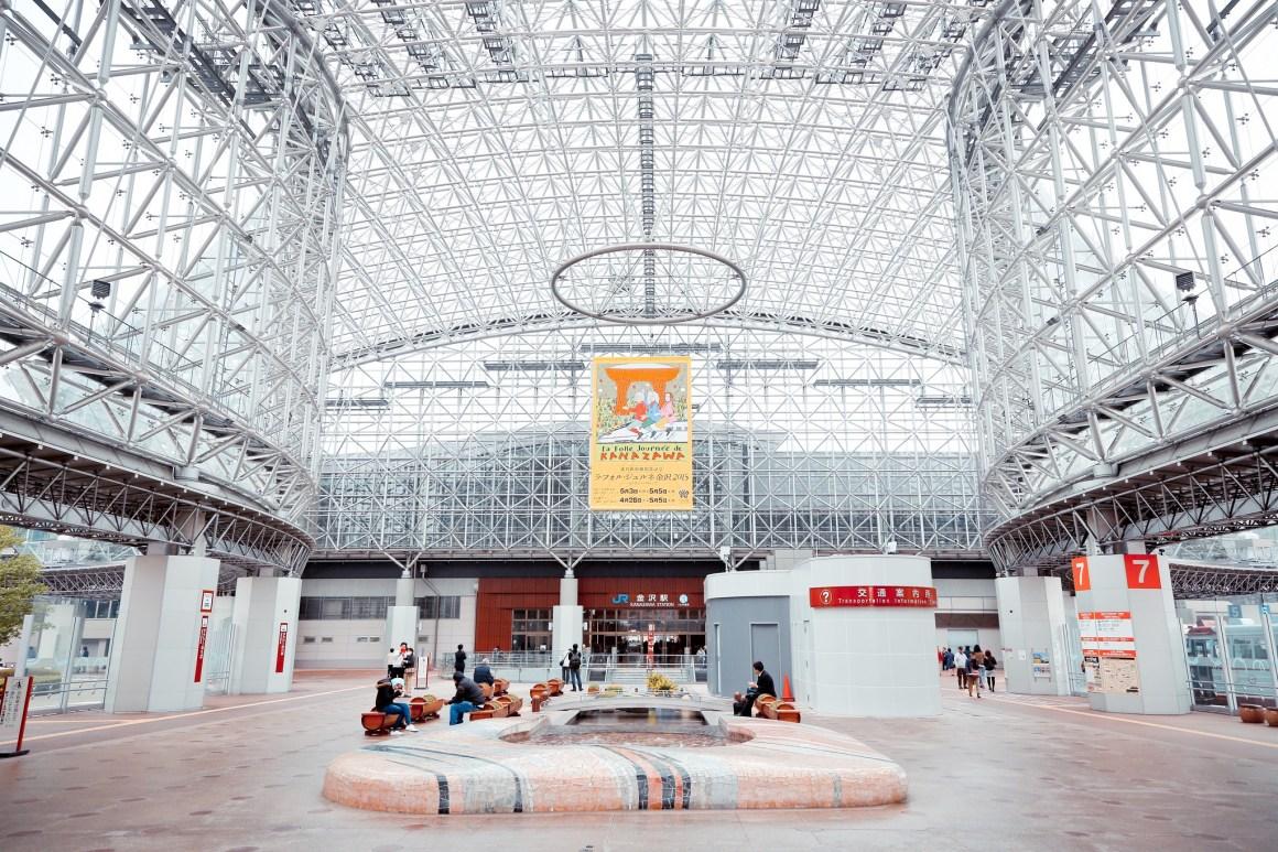 金澤攻略 JR金沢駅 Kanazawa Station