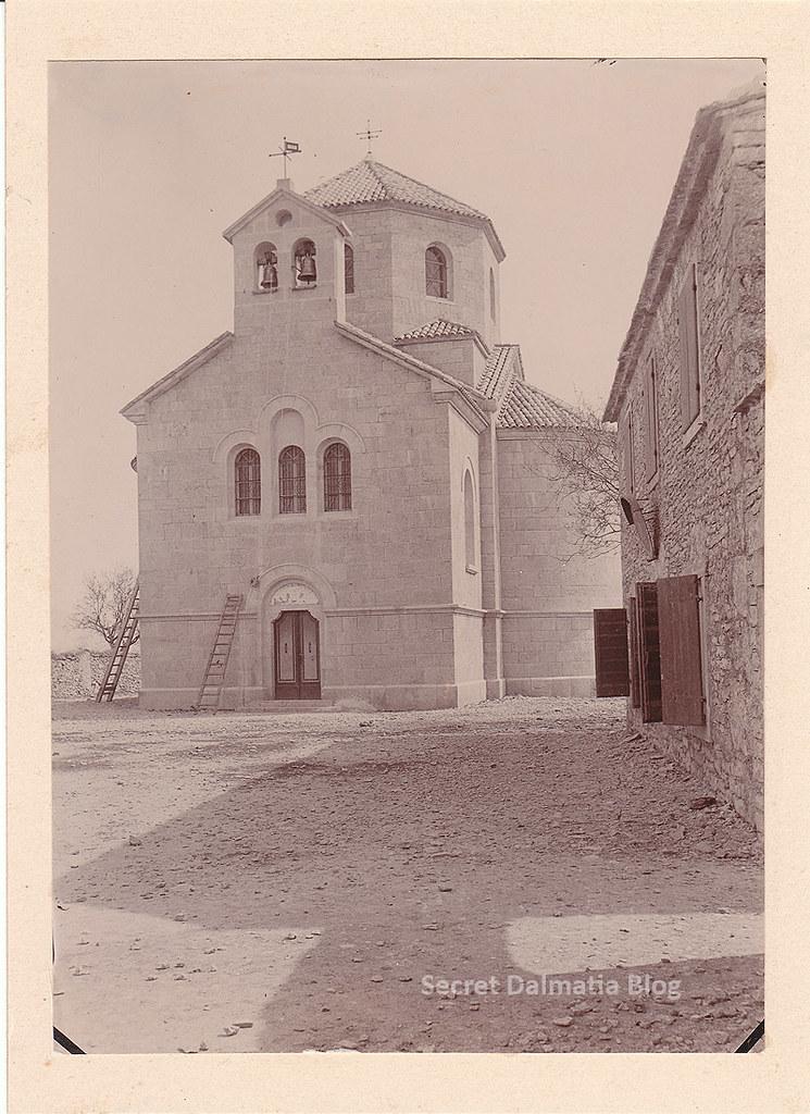 Orthodox church in Kistanje