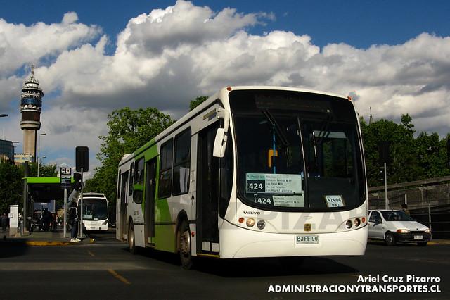 Transantiago - Express de Santiago Uno - Busscar Urbanuss Pluss / Volvo (BJFF90)