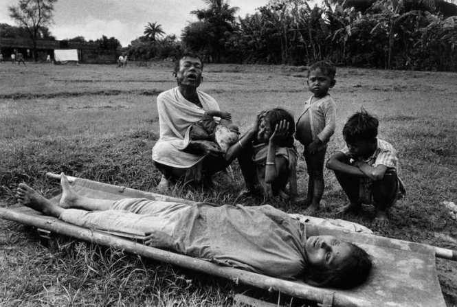 Bangladesh, civil war and cholera